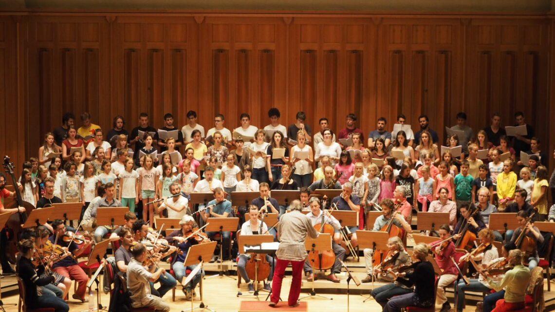 Orchesterakademie für Alte Musik Bruneck -Jos van Immerseel - Toblach 2015